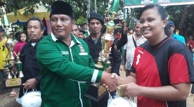 Volly Ball Putri PKB CUP Di Torgamba Meriah