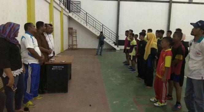 KONI Paluta Serahkan Dana Pembinaan Atlet PPID Triwulan III