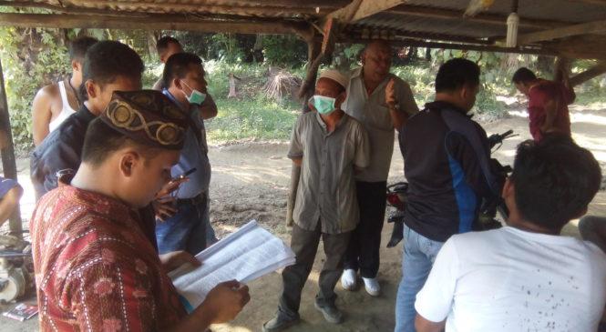 Minta Di Tutup, Warga Desa Huta Godang Datangi Lokasi Galian C