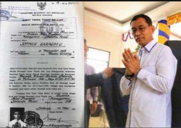 Diduga Palsukan Legalisir Ijazah, JR Saragih Tersangka