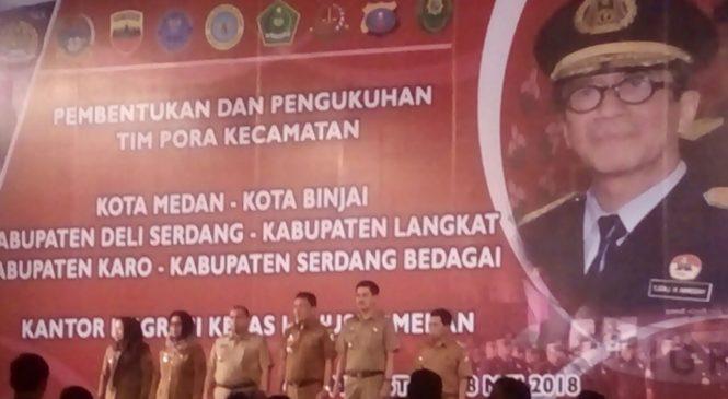 Orang Asing Bergentayangan Di Medan, Pemko Medan Ajak Babinsa Koramil 03/MD Ikut Mengawasi