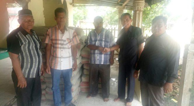 PT. BAS Bantu Rehabilitasi Masjid 300 Sak Semen