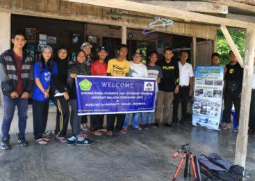 Mahasiswa Luar Negeri Kunjungi Konservasi Penyu Pantai Maligi