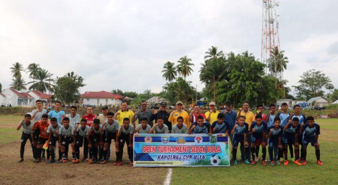 Kapolres Cup U-16 Tahun 2019 Resmi Dibuka Di Pasaman Barat
