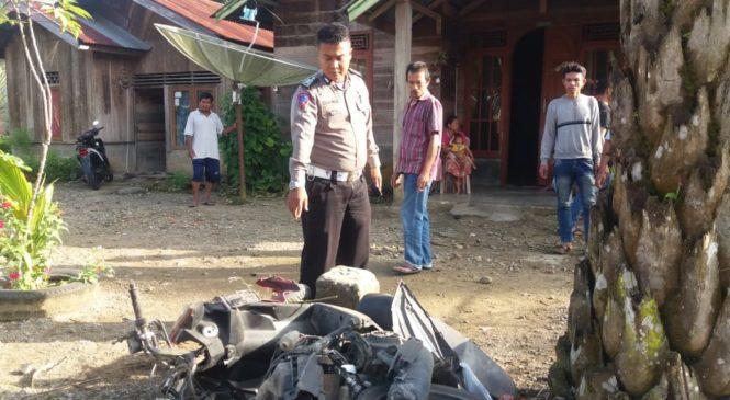 Flash : Tabrakan Di Muaro Kiawai, 1 Meninggal 2 Kritis