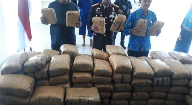 Pemilik 200 Kg Ganja Asal Aceh Ditangkap BNN Sumatera Barat