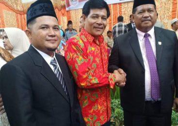Hanafi Lubis, Putra Nagari Persiapan Pematang Panjang Dilantik Sebagai Anggota DPRD Pasbar