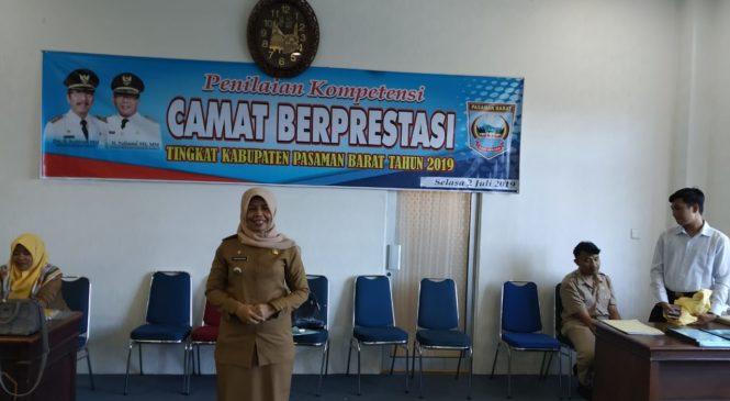 Camat Sasak Ranah Pasisie, Nur Fauziah Zein. S. Sos Lolos Ke 6 Besar Di Tingkat Sumbar