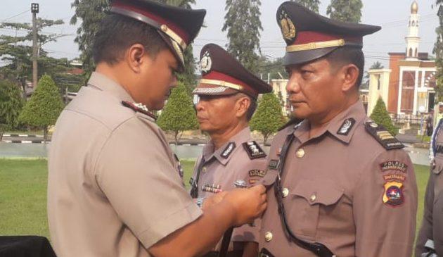 Dua Perwira Polres Pasbar Sertijab, AKP Muzhendra, SH. MH Jadi Kabag Sumda