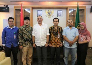 Yayasan Rumah Konstitusi Indonesia Usulkan Percepatan Status Kemajuan dan Kemandirian Desa ke Pimpinan DPRD Sumut