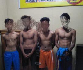 Empat Pelaku Beserta 6 Unit BB Hasil Curanmor Diamankan Polisi