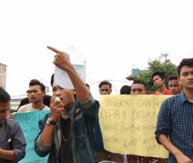 Puluhan Mahasiswa Asal Paluta Datangi Kantor PMD Dan Mapolda Sumatera Utara