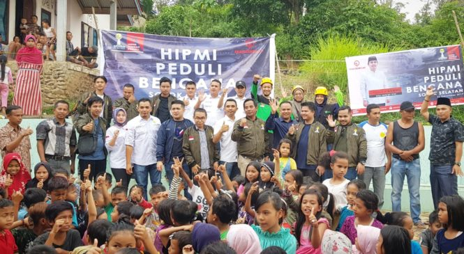 Bersinergi Dengan DDS, BPD HIPMI Sumbar Salurkan Bantuan