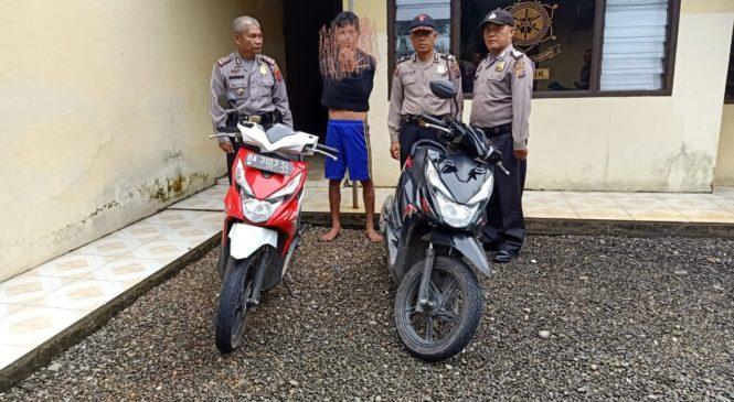 Lagi-Lagi, Pelaku Curanmor Ditangkap Polsek Lembah Melintang