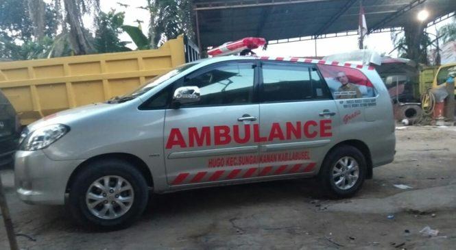 Kini Masyarakat Desa Huta Godang Punya Ambulance Gratis