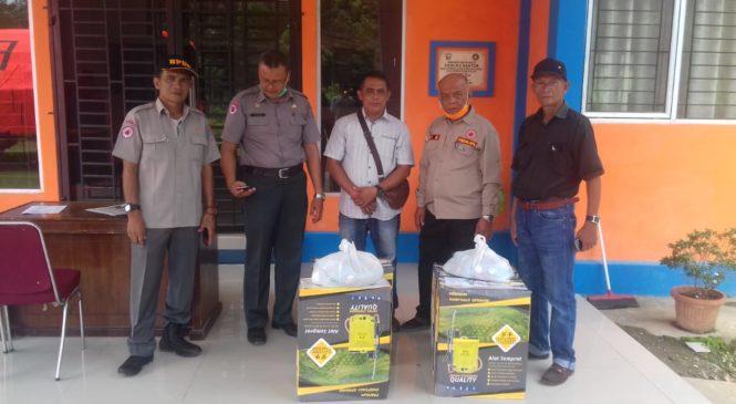 Selain Bantu Pemkab Pasbar, PT. USM juga Lakukan Penyemprotan Desinfektan Dilingkungan Pabrik
