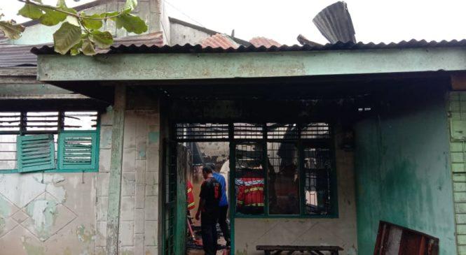 Dua Rumah Anak Dan Mamak di Kisaran Hangus di Lalalap Si Jago Merah