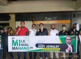 RAJO Sambut Kedatangan Bacalon Wakil Gubernur Sumbar Audy Joinaldy Di BIM